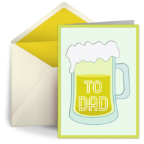 Father's Day Beer card image