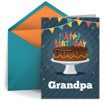 Birthday for Grandfather card image