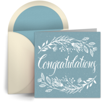 Wedding Congratulations card image