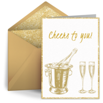 Wedding Cheers card image