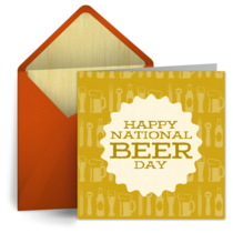 National Beer Day | April 7 card image