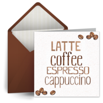 Coffee Time card image