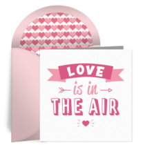 Love Is in the Air card image