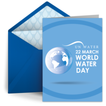 World Water Day | March 22 card image