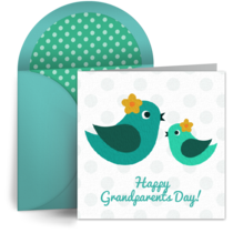 Grandmother Bird card image