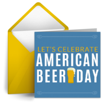 American Beer Day | October 27 card image