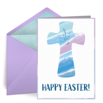 Easter Cross card image
