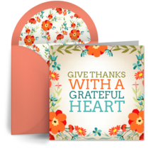 Give Thanks card image