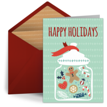 Holiday Cookie Jar card image