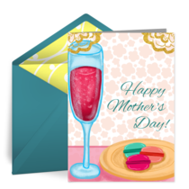 A Sweet Mother's Day card image