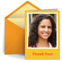 ABC Thank You Teacher card image