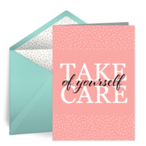 Take Care of Yourself card image