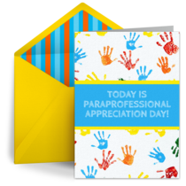 Paraprofessional Day | April 1 card image