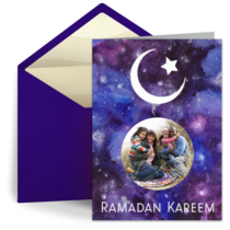 Ramadan Starry Night card image