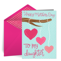 To My Daughter card image