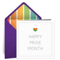 Happy Pride card image