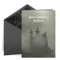 Bewitching Halloween card image