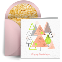 contemporary business christmas cards free business holiday cards