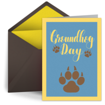 Paw Prints card image