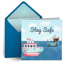Calm Seas card image