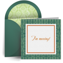 Moving Announcement card image