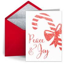 Peace & Joy card image