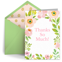 Free thank you notes thank you ecards greeting cards thank you spring blossoms thank you m4hsunfo