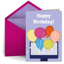 Virtual Balloon Bunch card image