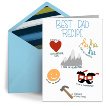 Best Dad Recipe card image