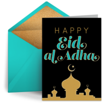 Happy Eid al-Adha card image