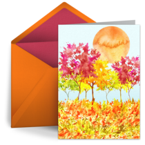 Fall Equinox Scene card image
