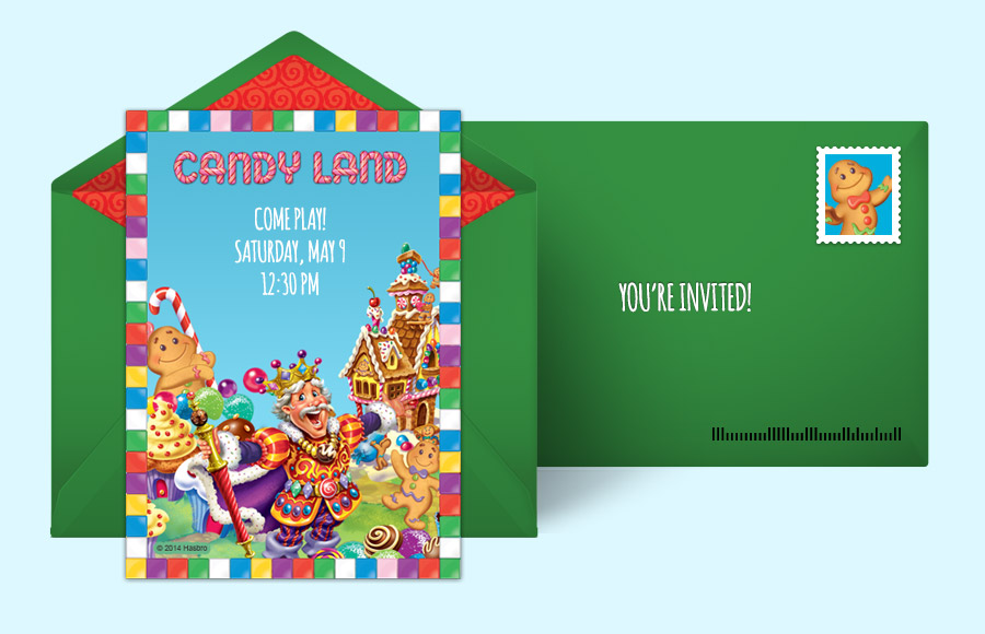 Plan a Candy Land Party!