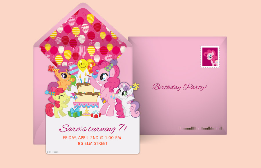 Plan A My Little Pony Party