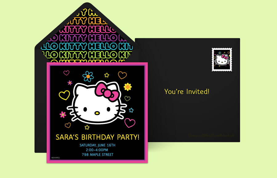 Plan a Hello Kitty Tween Party!