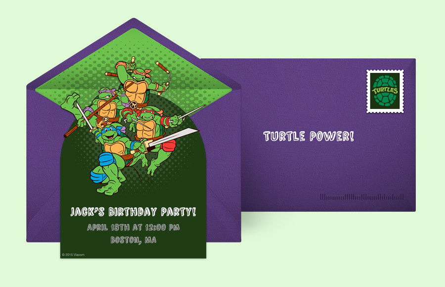 Plan a TMNT Classic Action Pose Party!