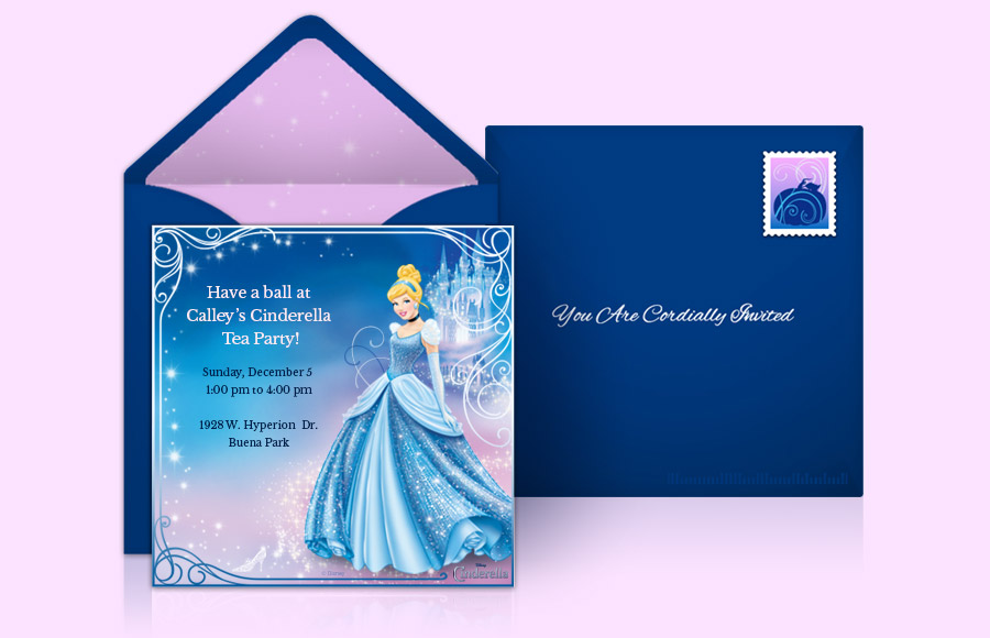 Plan a Cinderella Party!