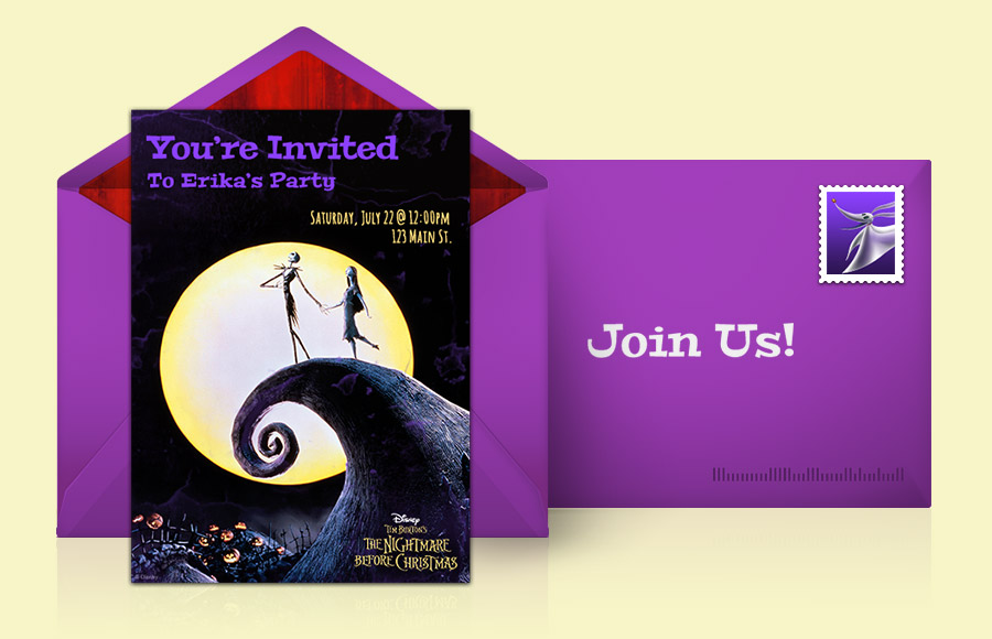 Plan a The Nightmare Before Christmas Party!