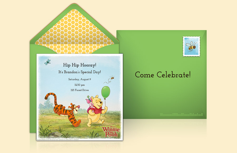 Plan a Winnie the Pooh Party!