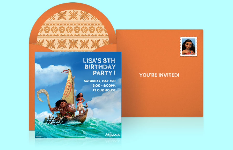 Plan a Moana Party!