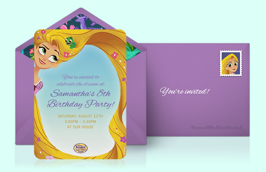 Plan a Tangled The Series Party!
