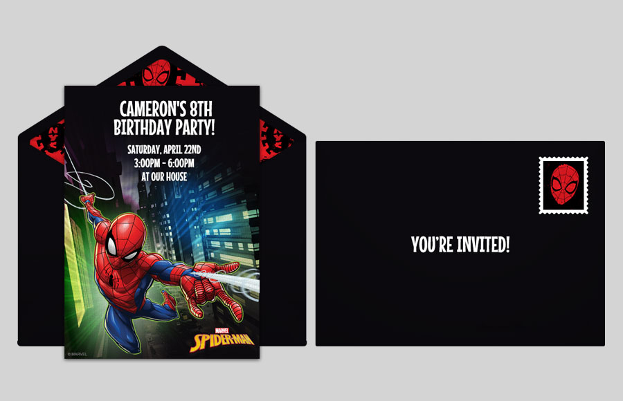 Plan a Spider-Man City Party!