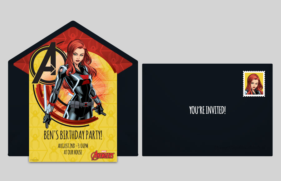 Plan a Avengers Black Widow Party!