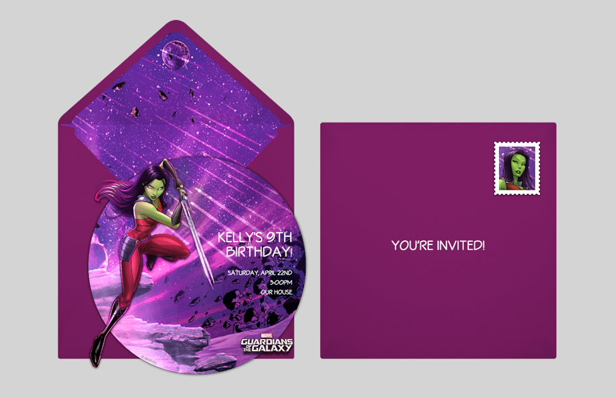 Plan a GOTG Gamora Party!