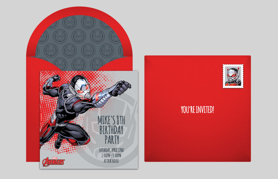 Plan a Avengers Ant-Man Party!