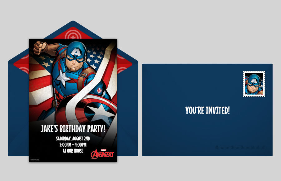 Plan a Avengers Captain America Party!