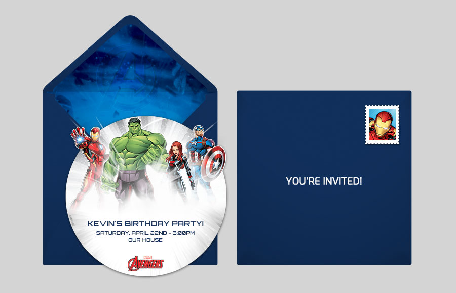 Plan a Avengers Group Cutout Party!