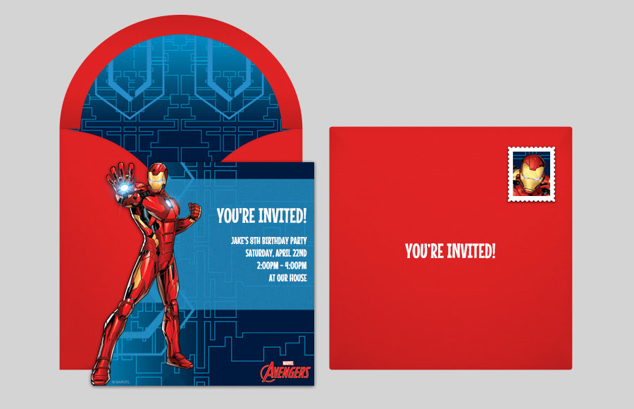Free Avengers Online Invitations Punchbowl Punchbowl