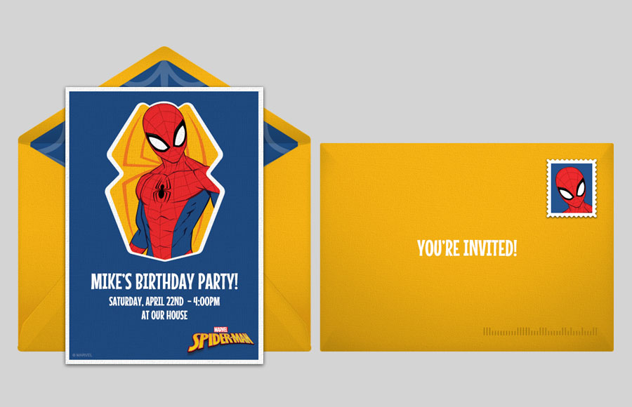Plan a Spider-Man Retro Party!