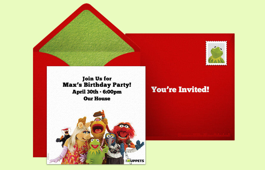 Plan a The Muppets Party!