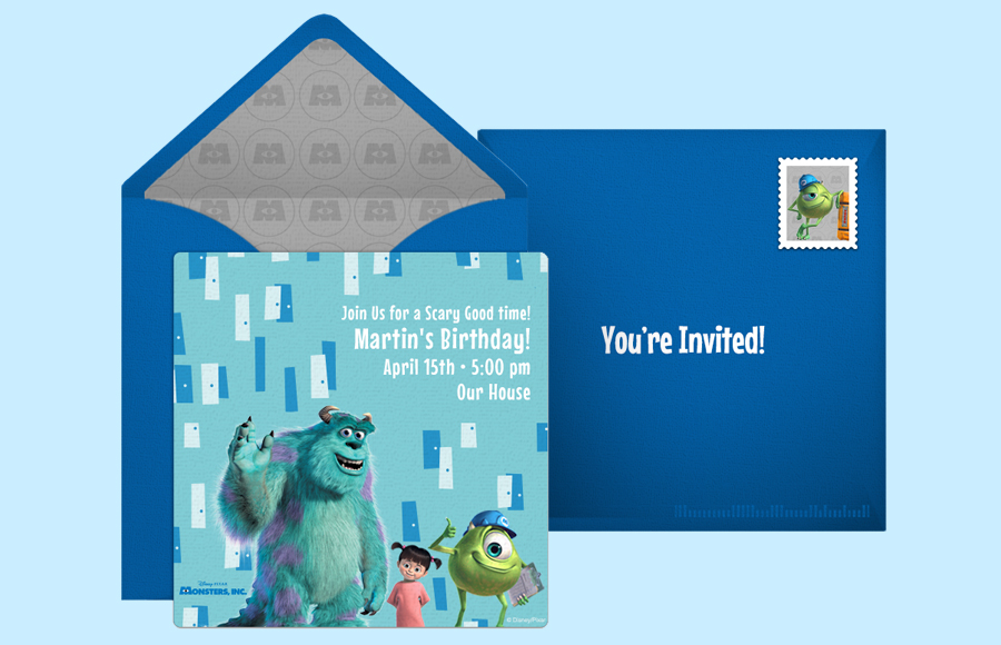 Plan a Monsters, Inc. Party!